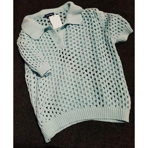 VINTAGE American Apparel Tennis Crop Knit SM